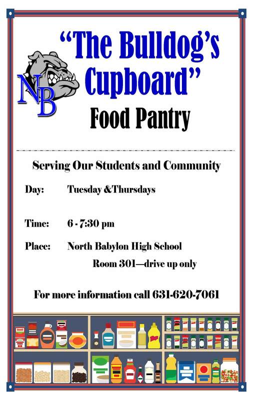 The Bulldog's Cupboard - Food Pantry